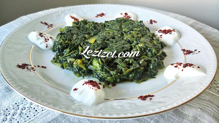 Zeytinyağlı Ispanak Kavurması Nasıl Yapılır?
