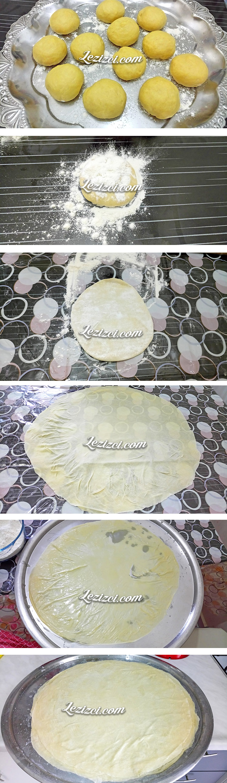 El Açması Kıymalı Muska Böreği Hamuru Nasıl Hazırlanır