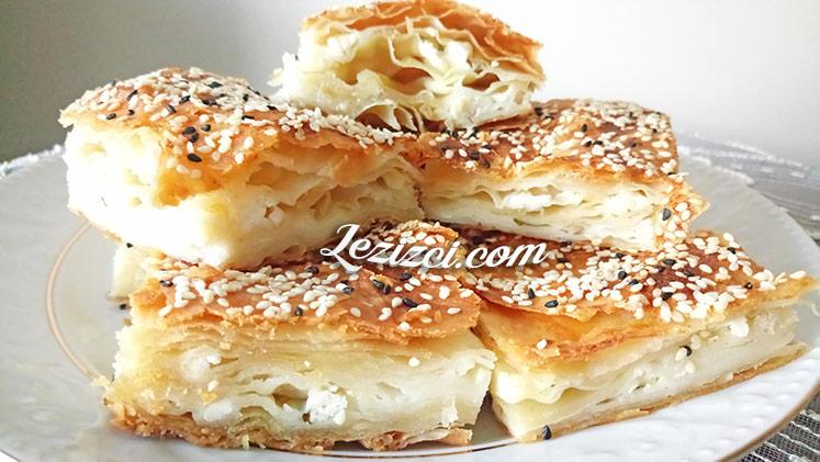 El Açması Peynirli Tepsi Böreği