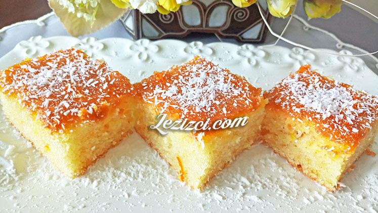 Enfes Portakal Soslu Kek Nasıl Yapılır?