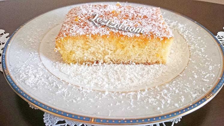 Portakal Soslu Islak Kek Yapımı