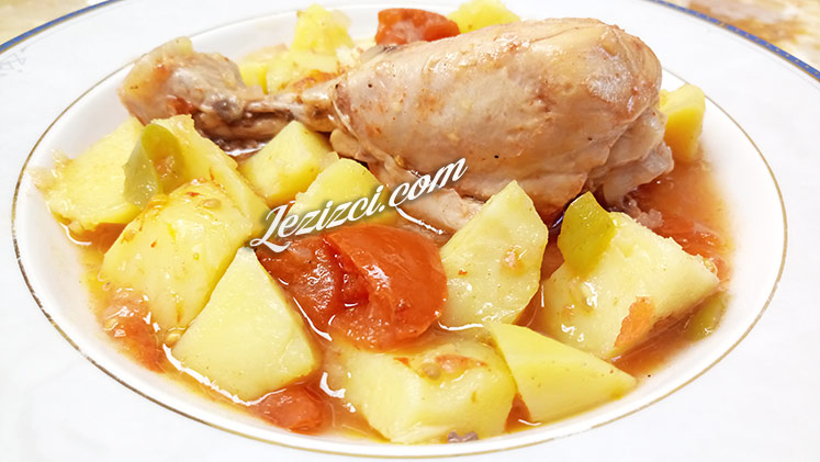 Güveçte Tavuklu Patates Tarifi
