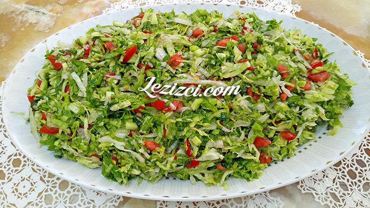 Kır Salatası Nasıl Yapılır