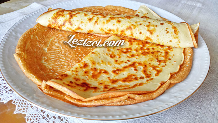 Kahvaltılık Krep Tarifi – Krep Nasıl Yapılır?