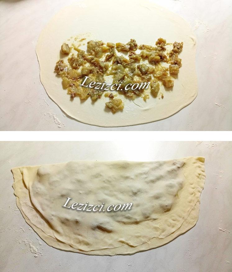 Patlıcanlı Sac Böreği Nasıl Yapılır