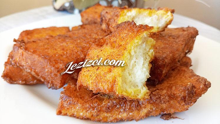 Bayatlayan Ekmekler İle Sütlü Yumurtalı Ekmek Tarifi