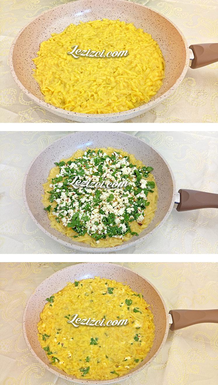 Tavada Peynirli Patates Böreği Nasıl Yapılır