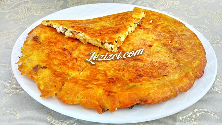 Tavada Kahvaltılık Peynirli Patates Böreği