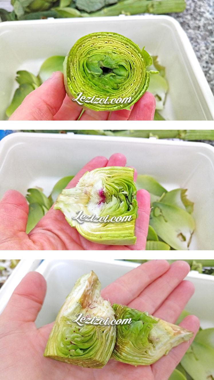Zeytinyağlı Taze Enginar Yemeği Nasıl Yapılır