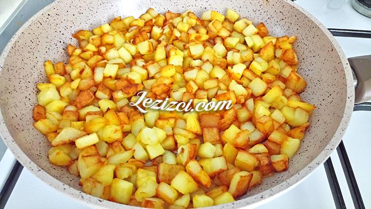 Küp Patatesli Omlet