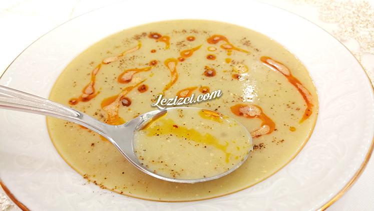 Sütlü Köz Patlıcan Çorbası