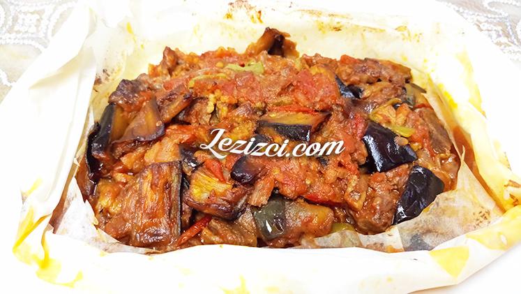 Fırında Etli Kağıt Kebabı Tarifi