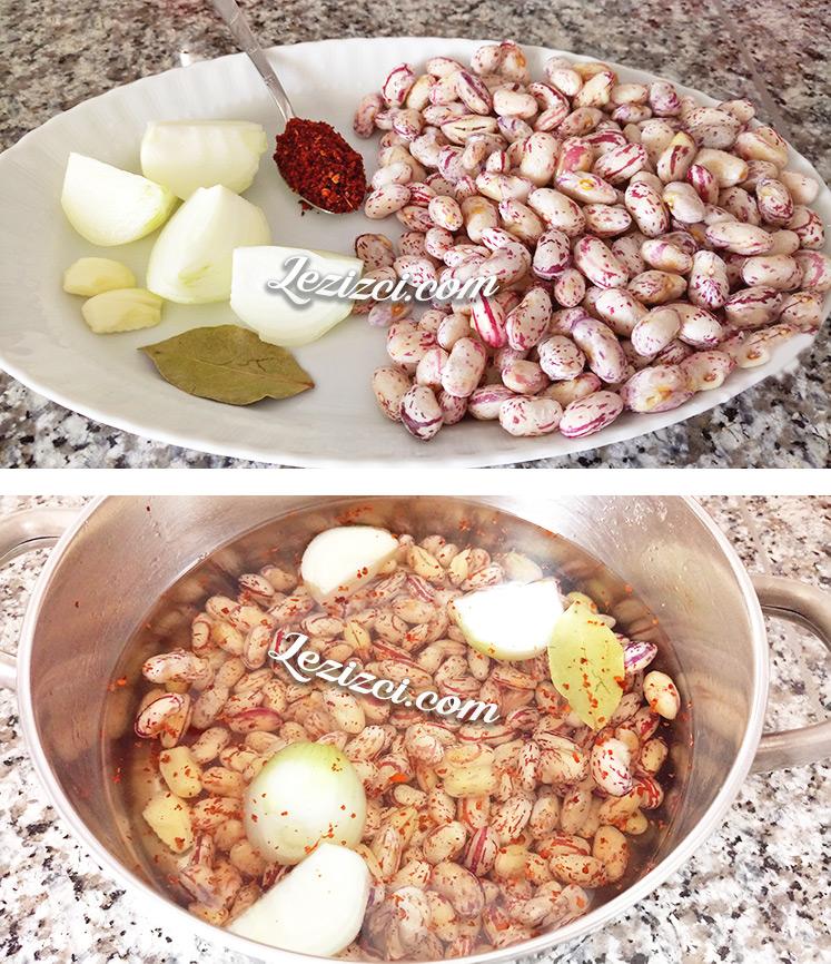 Soslu Taze Barbunya Salatası Nasıl Yapılır