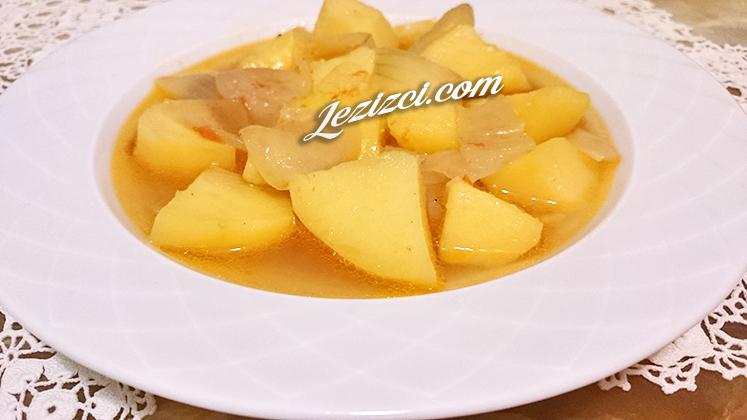 Et Sulu Patates Yemeği Nasıl Yapılır?