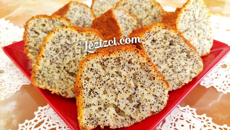 Haşhaşlı Kek Tarifi – Kavrulmuş Haşhaşlı Kek Nasıl Yapılır?