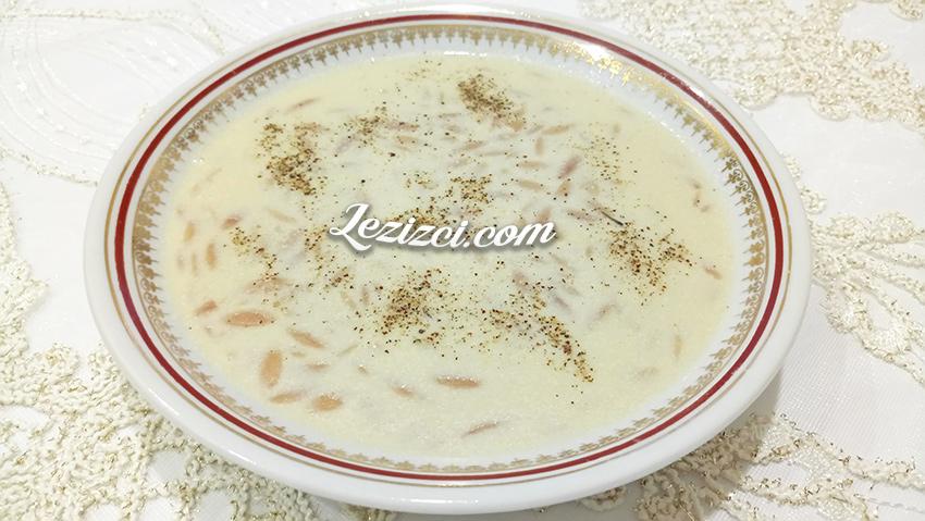 Şehriyeli Süt Çorbası Tarifi