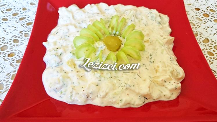 Yoğurtlu Patates Salatası Nasıl Yapılır?