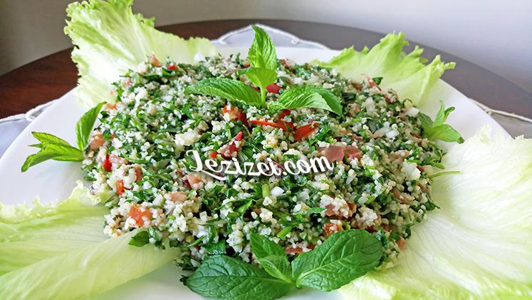 Arap Salatası Tabule Nasıl Yapılır