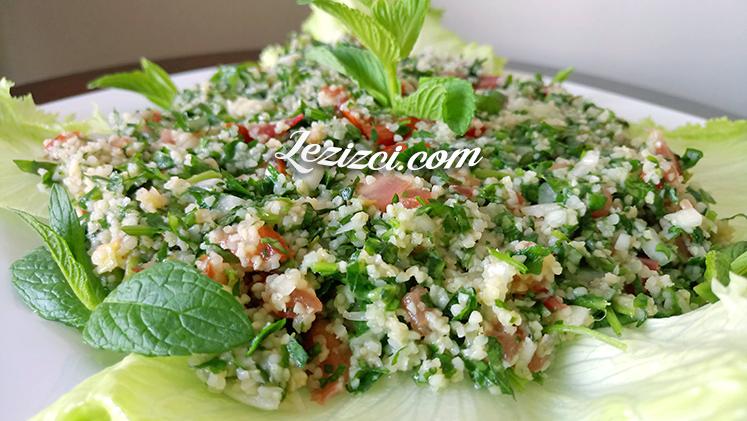 Tabule Tarifi – Arap Salatası Tabule Nasıl Yapılır?