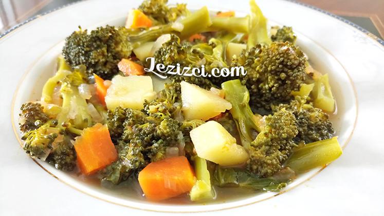 Zeytinyağlı Brokoli Yemeği Nasıl Yapılır?