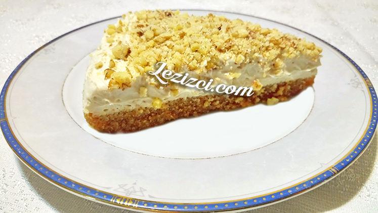 Kremalı Bayat Ekmek Tatlısı – Galeta Unlu Lübnan Tatlısı