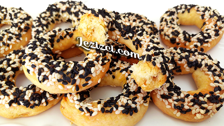 Mahlepli Pastane Simidi Nasıl Yapılır – Kandil Simidi Tarifi