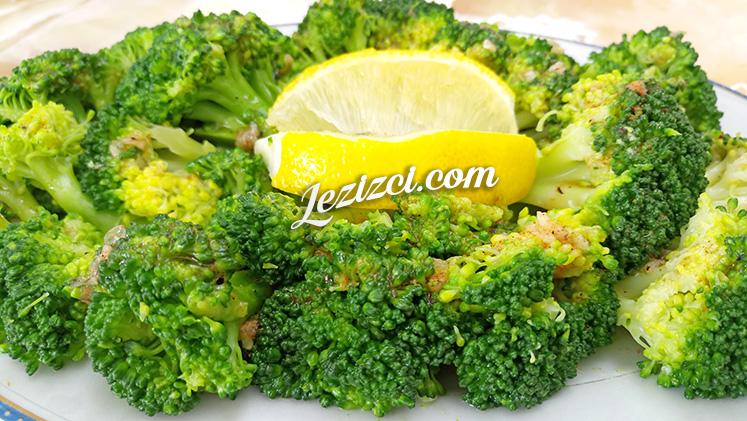 Sarımsak Soslu Brokoli Salatası