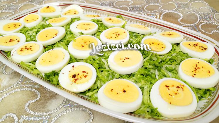 Yumurtalı kıvırcık salata tarifi