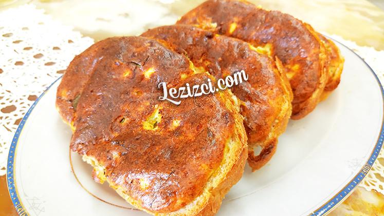 Fırında Tereyağlı Ve Peynirli Ekmek Tarifi
