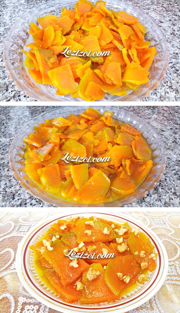 Bal kabağı tatlısı nasıl yapılır