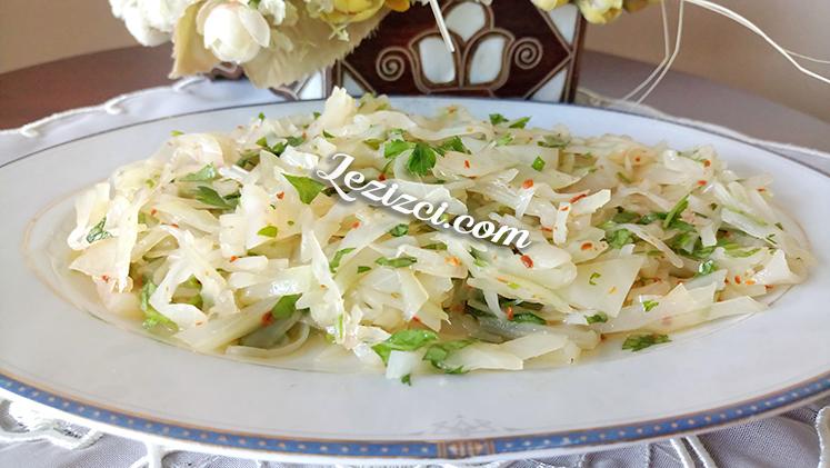 Lahana Turşusundan Salata Tarifi