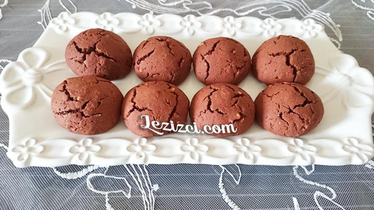 Fındıklı ve kakaolu kurabiye