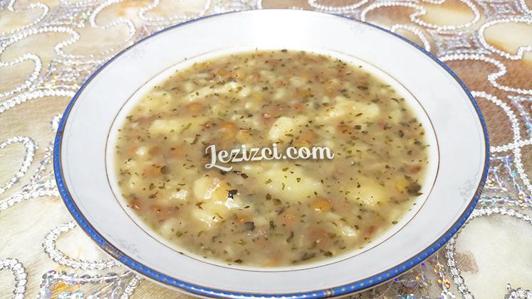 Mercimekli Oğmaç Çorbası