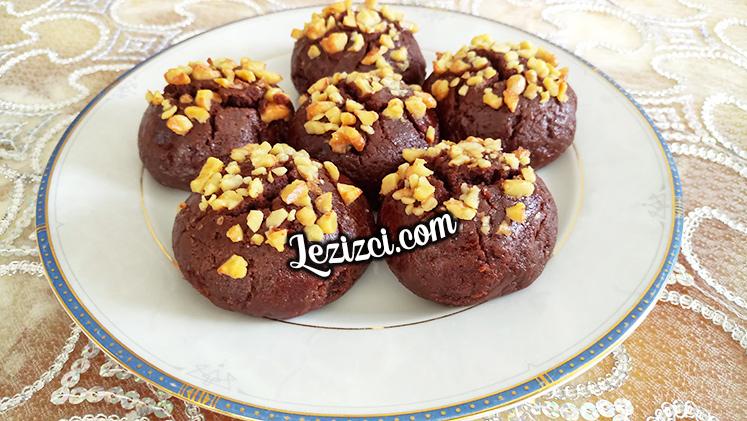Çikolata tadında kakaolu ve fındıklı şekerpare