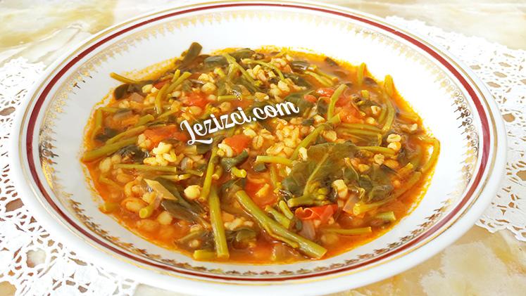 Bulgurlu Semizotu Yemeği