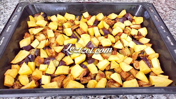 Patlıcanlı Patatesli Oturtma