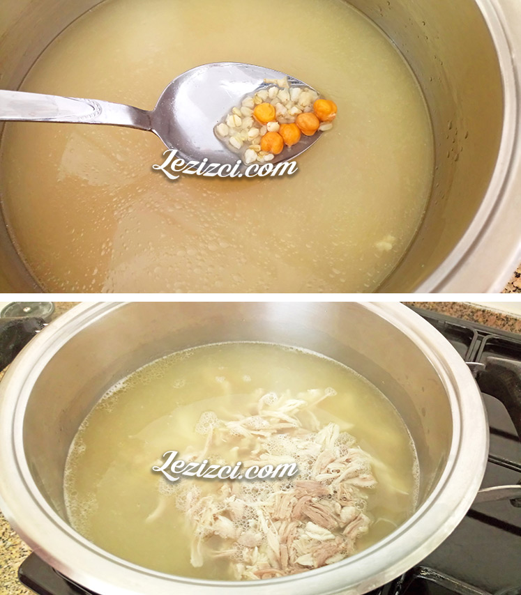 Toyga çorbası tavuklu nasıl yapılır