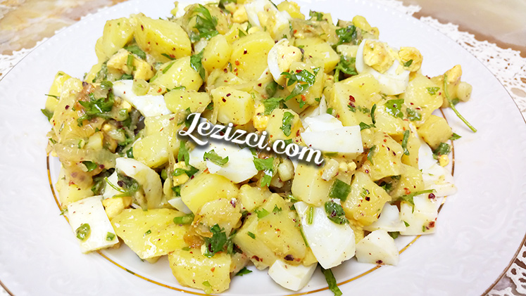 Çay Saatleri İçin Enfes Patates Salatası Tarifi