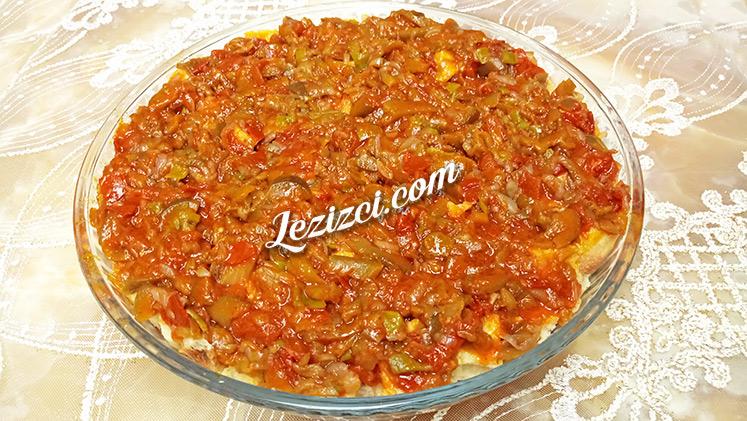 Konya Usulü Patlıcan Tiridi