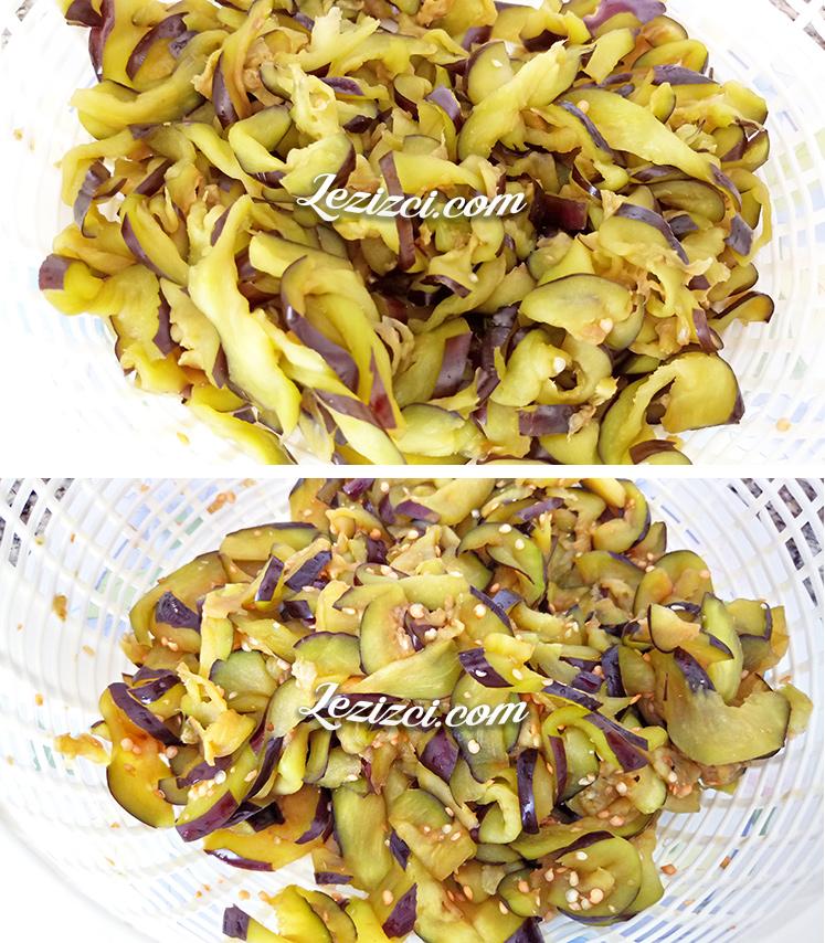 Patlıcan tiridi yapımı