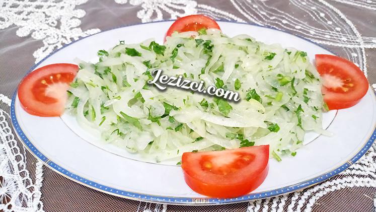 Soğanın En Lezzetli Hali Limonlu Soğan Salatası Tarifi