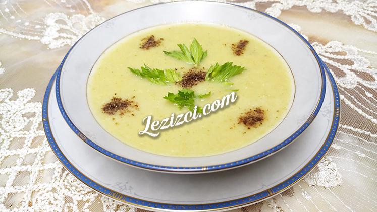 Kereviz Çorbası Tarifi – Sütlü Kereviz Çorbası Nasıl Yapılır?