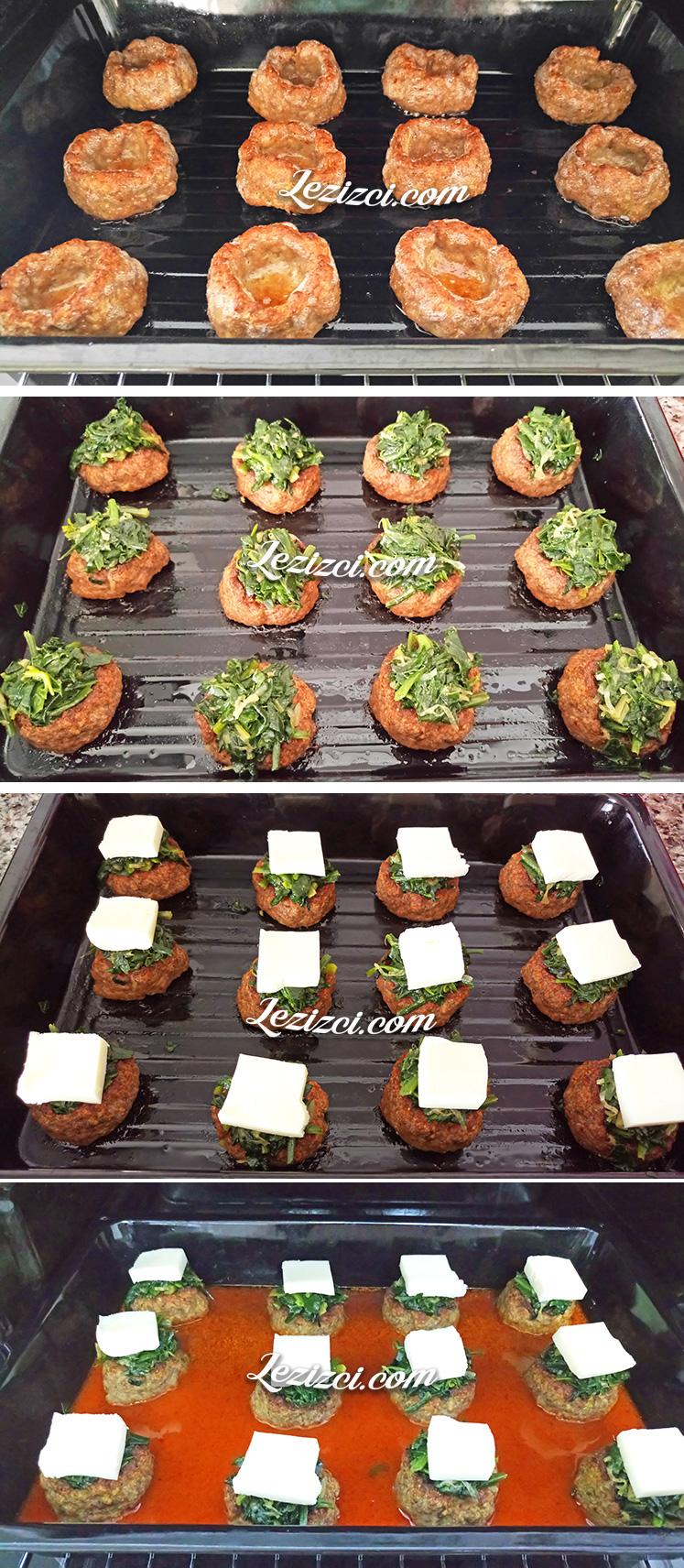 Fırında Ispanaklı Çanak Köfte Nasıl Yapılır?