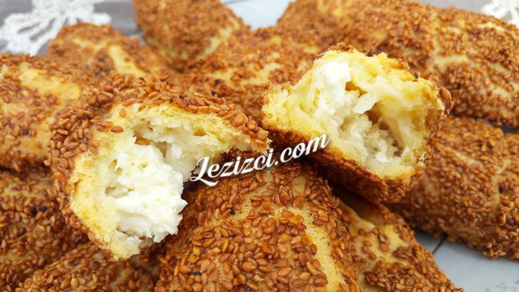 Mayasız Peynirli Simit Poğaça Nasıl Yapılır?