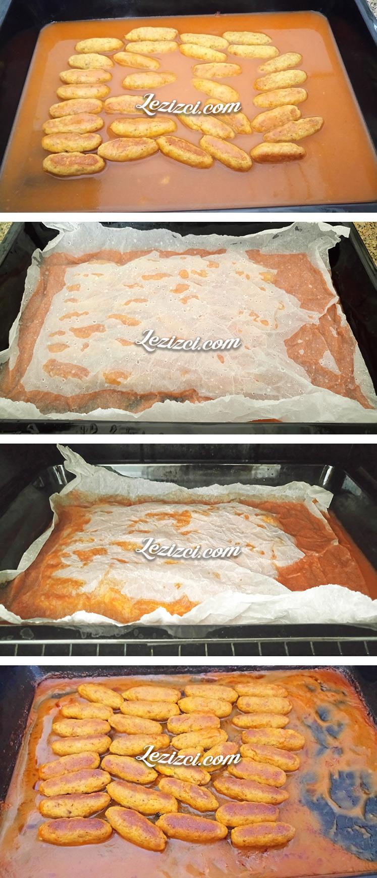 Fırında Soslu Tavuk Köftesi Nasıl Yapılır?