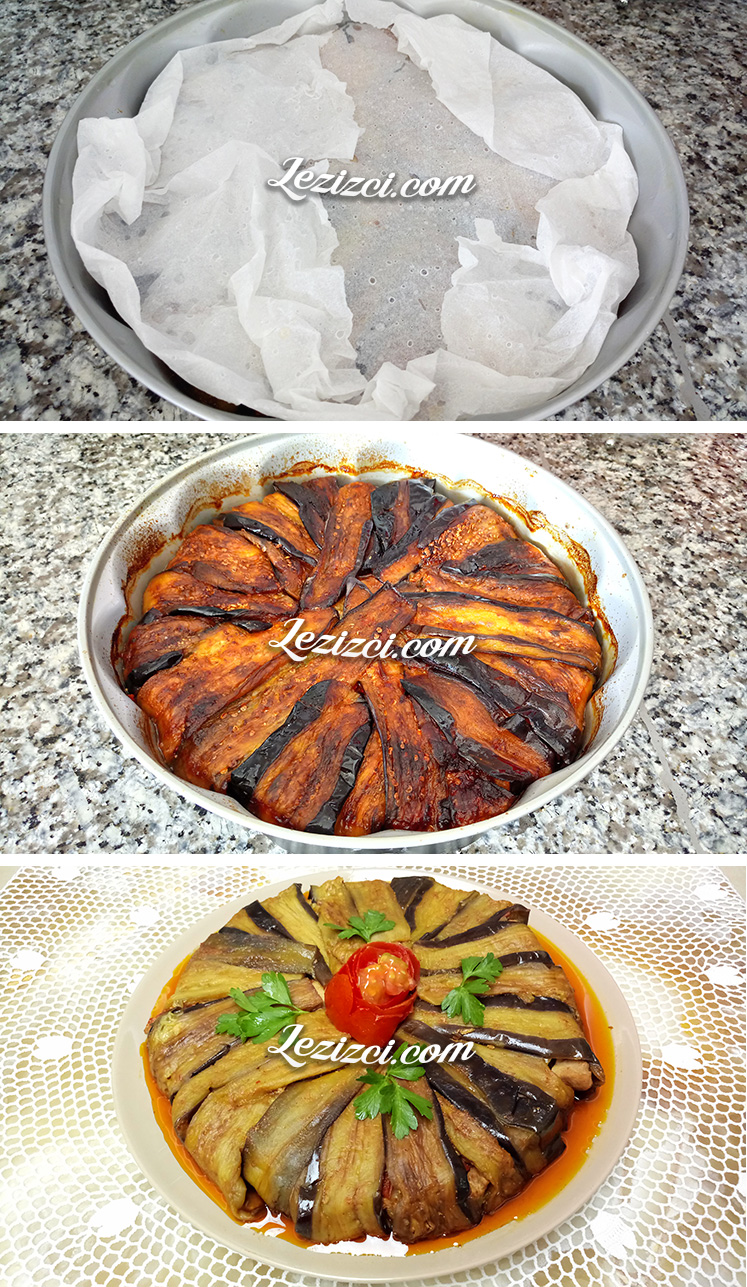 Tavuklu Patlıcan Kapama Yapımı
