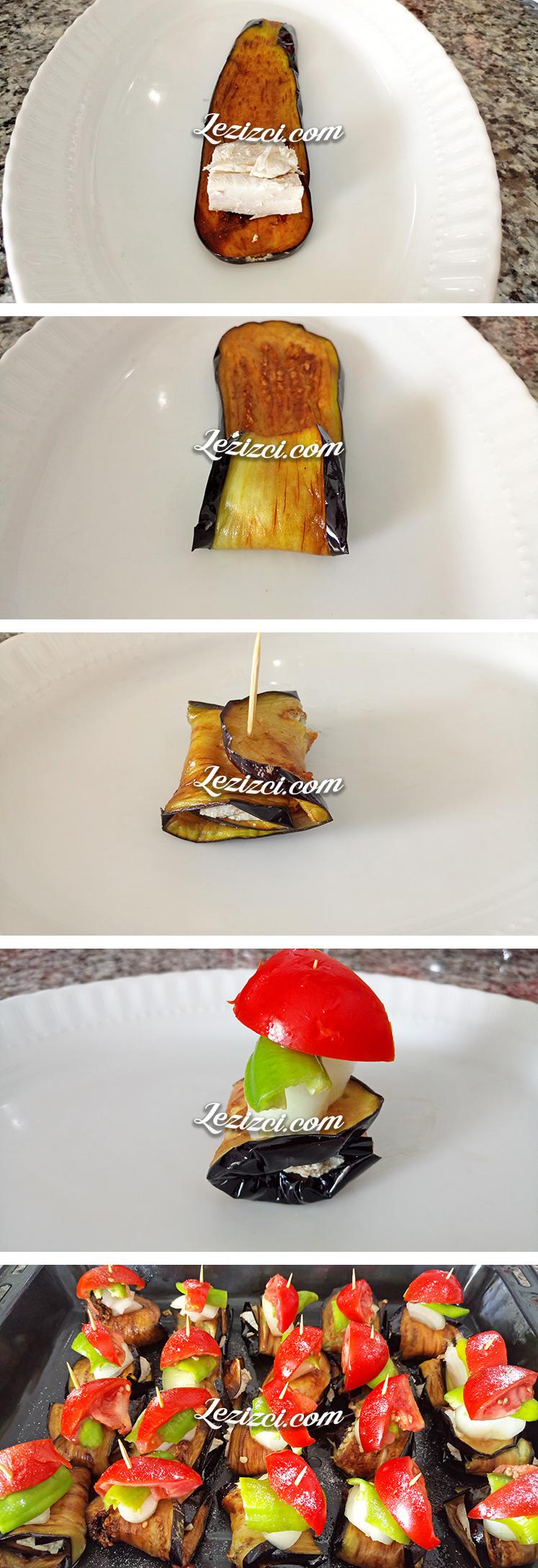 Hindili Patlıcan Sarma Nasıl Yapılır?