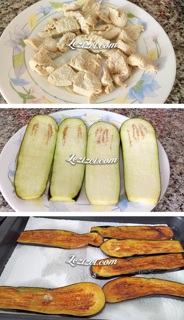 Hindili Patlıcan Sarma Yapımı