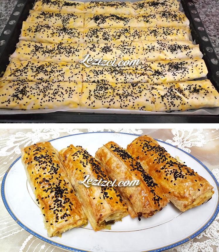 Pırasalı Peynirli Börek Tarifi