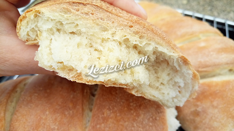 Ev Yapımı Yaş Mayalı Ekmek